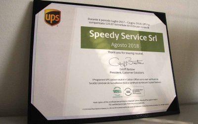 Un importante riconoscimento UPS